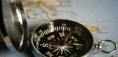 be the compass