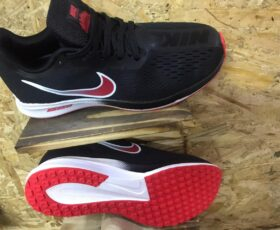 Red Bottom Nike Zoom sports shoes