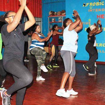 feel-fitness group training